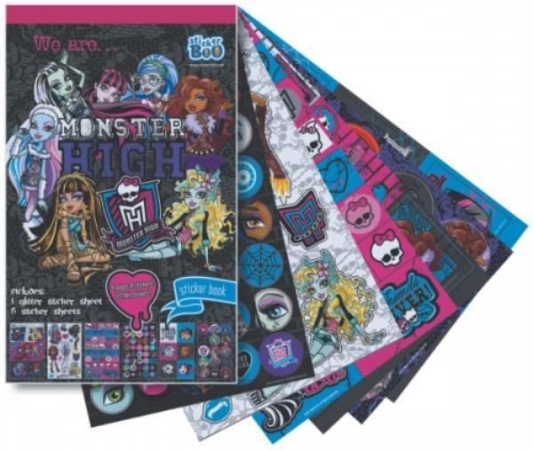 Starpak Książeczka z naklejkami Monster High - 296932 1