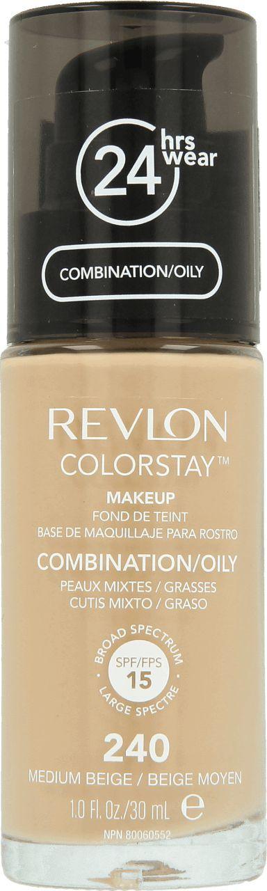 Revlon Colorstay Cera Mieszana/Tłusta 240 Medium Beige 30ml 1