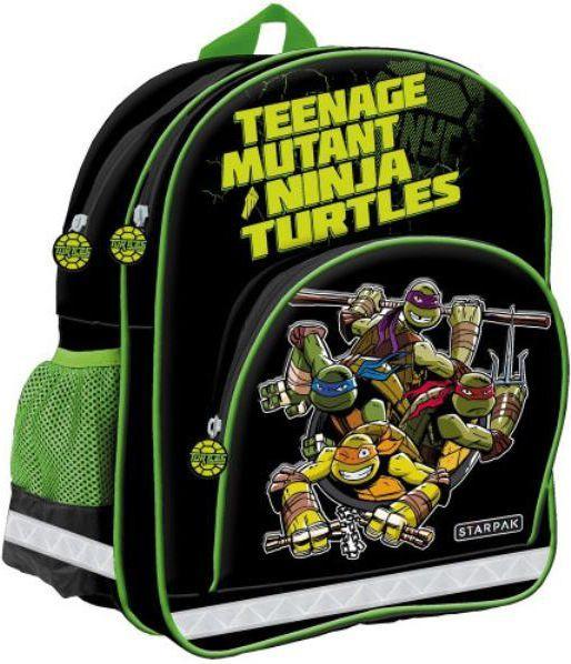 Starpak Plecak szkolny Żółwie Ninja STK 50-14 czarny (348736) 1