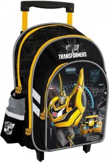 Starpak Plecak na kółkach Transformers STK 21-34 czarno-żółty (348733) 1
