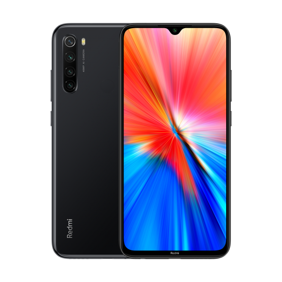 Smartfon Xiaomi Redmi Note 8 2021 4/64GB Dual SIM Czarny  (2_387065) 1