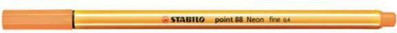 Stabilo Cienkopis point88 neonowy pomarańcz. p10 - 88/054 1