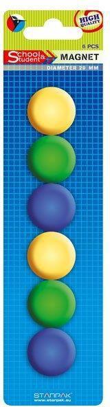 Starpak Magnesy kolorowe 29mm (262702) 1