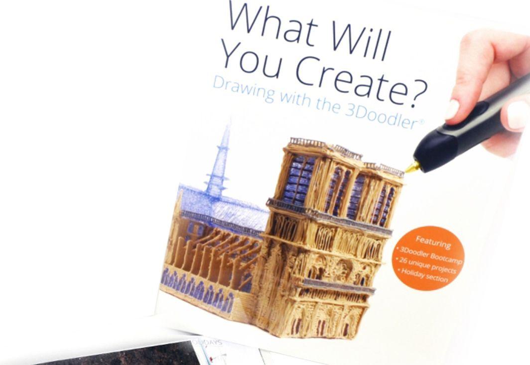 3Doodler Book - Książka projektów 3D do długopisu 3Doodler (jęz. ang.) (3DR2BK) 1