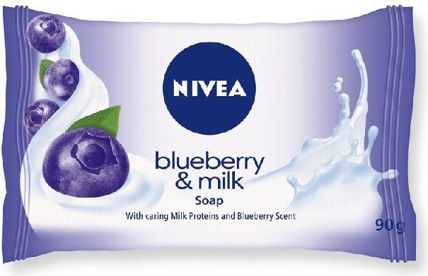 Nivea MYDŁO Blueberry & Milk kostka 90g 1