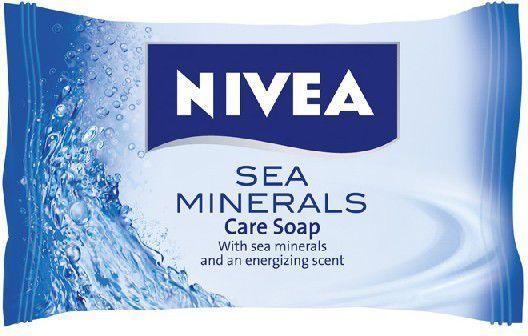 Nivea Mydło w kostce Morskie minerały 90g 1