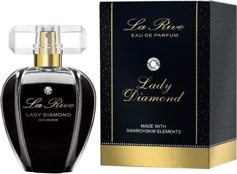 La Rive Lady Diamond z kryształkiem Swarovskiego EDP 75ml 1