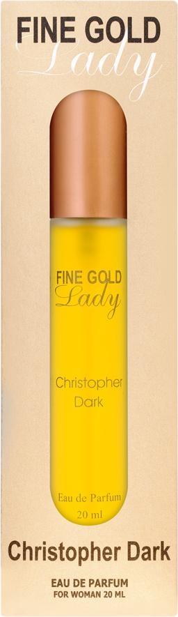 Christopher Dark Fine Gold Lady EDP 20ml 1