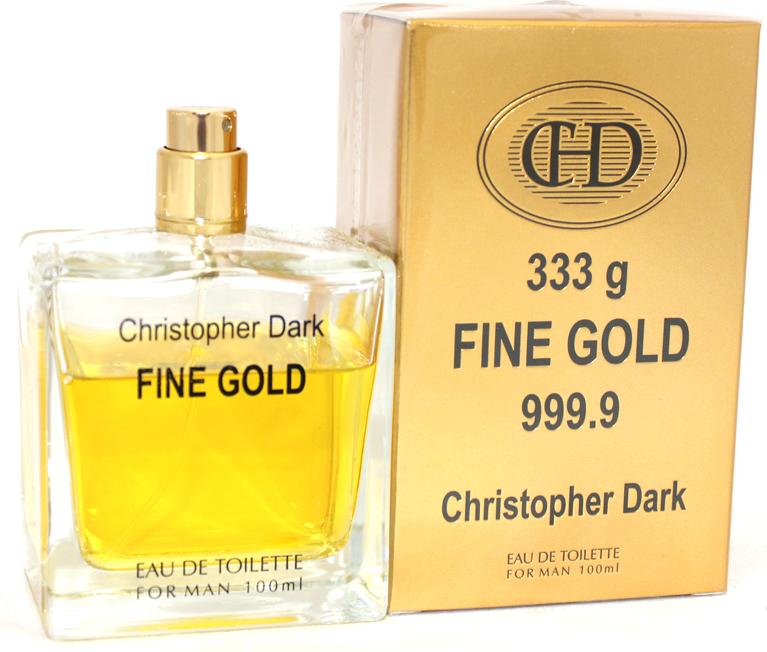 christopher dark fine gold