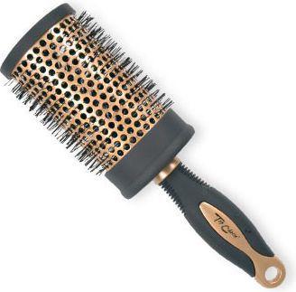Top Choice Szczotka do włosów Exclusive rozm XL okrągła złoto/czerń 1