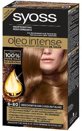 Syoss Farba do włosów Oleo 6-80 orzechowy blond 1
