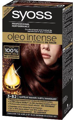Syoss Farba do włosów Oleo 3-82 subtelny mahoń 1