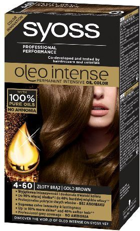 Syoss Farba do włosów Oleo 4-60 złoty brąz 1