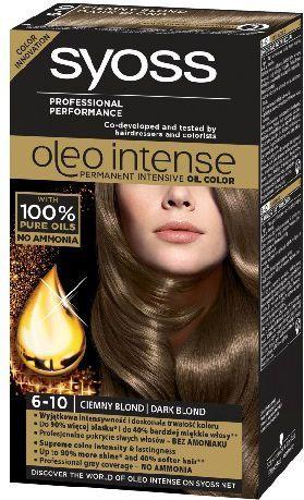Syoss Farba do włosów Oleo 6-10 ciemny blond 1