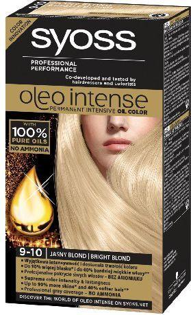 Syoss Farba do włosów Oleo 9-10 jasny blond 1