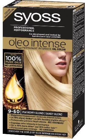 Syoss Farba do włosów Oleo 9-60 piaskowy blond 1
