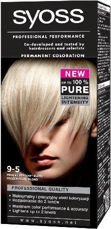 Syoss Farba do włosów Mroźny Perłowy Blond nr 9-5 1