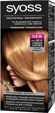 Syoss Farba do włosów Miodowy Blond nr 8-7 1