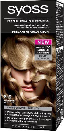 Syoss Farba do włosów Jasny Blond nr 8-6 1