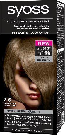 Syoss Farba do włosów Średni Blond nr 7-6 1op. - 68633123 1