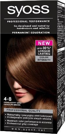 Syoss Farba do włosów Czekoladowy Brąz nr 4-8 1