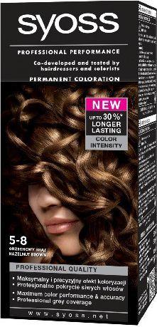 Syoss Farba do włosów Orzechowy Brąz nr 5-8 1
