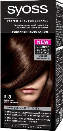 Syoss Farba do włosów Słodki Brąz nr 3-8 1