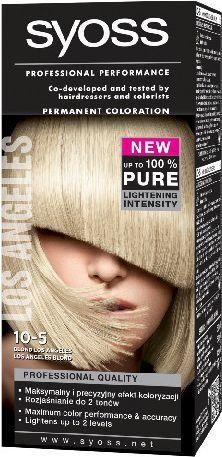 Syoss Farba do włosów 10-5 blond Los Angeles 1