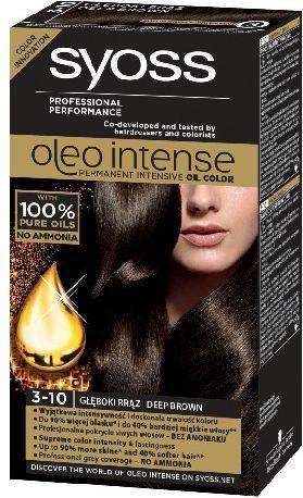 Syoss Farba do włosów Oleo 3-10 głęboki brąz 1op. - 68840743 1