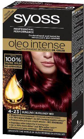 Syoss Farba do włosów Oleo 4-23 burgund 1