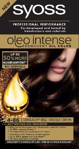 Syoss Farba do włosów Oleo 4-86 czekoladowy brąz 1