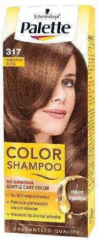 Palette Color Shampoo Szampon koloryzujący nr 317 Orzechowy Blond 1
