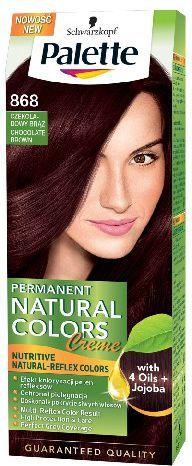 Palette Permanent Natural Colors Czekoladowy Brąz nr 868 1