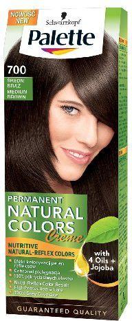 Palette Permanent Natural Colors Średni Brąz nr 700 1