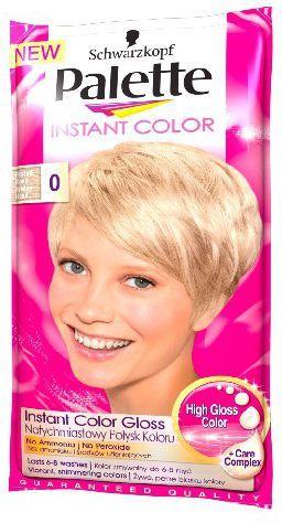 Palette Instant Color Szamponetka koloryzująca Mroźny Blond nr 0 25 ml 1