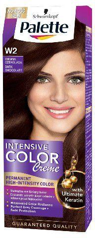 Palette Intensive Color Creme Krem koloryzujący nr W2-ciemna czekolada 1