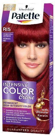 Palette Intensive Color Creme Krem koloryzujący nr RI5-intensywna czerwień 1