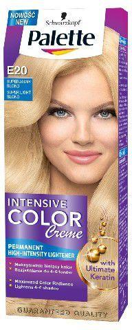 Palette Intensive Color Creme Krem koloryzujący nr E20-superjasny blond 1