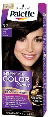 Palette Intensive Color Creme Krem koloryzujący nr N2-ciemny brąz 1