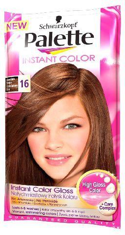 Palette Instant Color Szamponetka koloryzująca Czekoladowy Brąz nr 16 25 ml 1