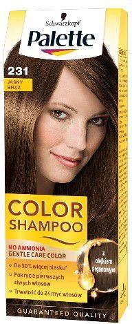 Palette Palette Color Shampoo Szampon koloryzujący nr 231 Jasny Brąz 1