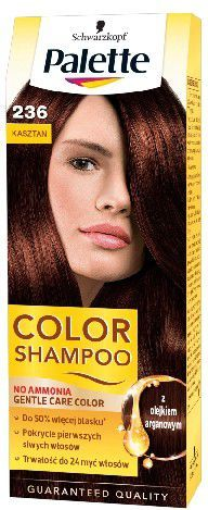 Palette Color Shampoo Szampon koloryzujący nr 236 Kasztan 1