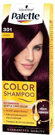 Palette Color Shampoo Szampon koloryzujący nr 301 Bordo 1