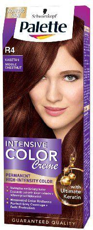Palette Intensive Color Creme Krem koloryzujący nr R4-kasztan 1