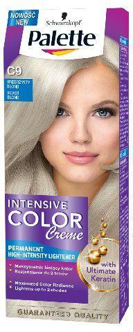 Palette Intensive Color Creme Krem koloryzujący nr C9-srebrzysty blond 1