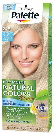 Palette Permanent Natural Colors Popielaty Blond nr 219 1op. - 68171180 1