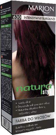 Marion Farba do włosów Natura Styl nr 630 intensywny burgund - 78630 1