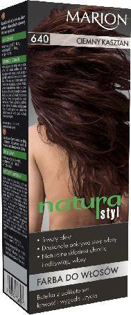Marion Farba do włosów Natura Styl nr 640 ciemny kasztan - 78640 1