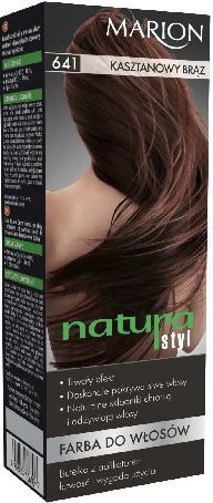 Marion Farba do włosów Natura Styl nr 641 kasztanowy brąz - 78641 1