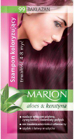 Marion Szampon koloryzujący 4-8 myć nr 99 bakłażan 40 ml 1